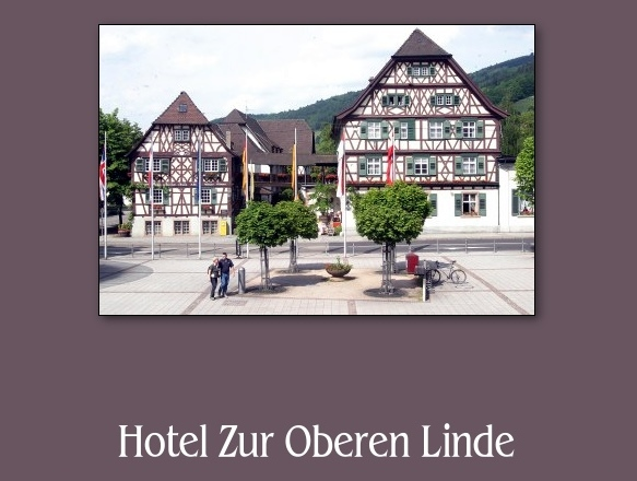 hotel obere linde in oberkirch infos buchen. Black Bedroom Furniture Sets. Home Design Ideas